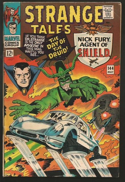 strange tales dr. strange shield
