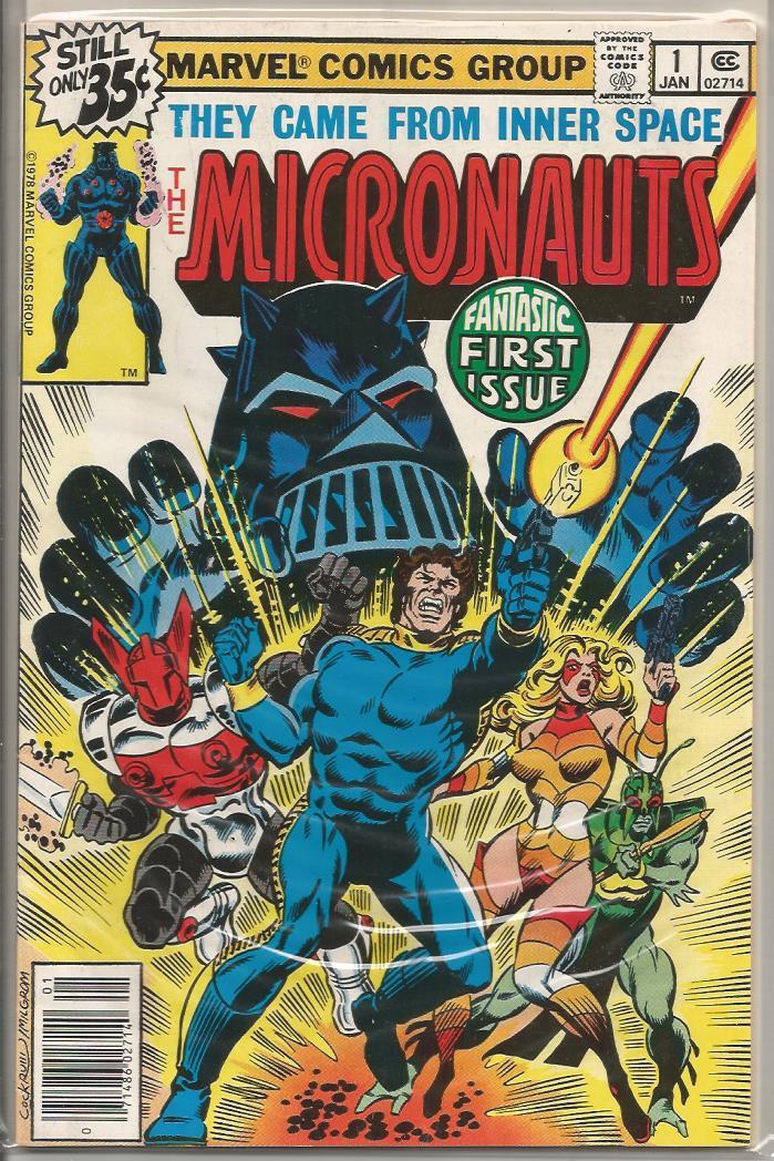 Micronauts V.2 U-PICK ONE 1,2,3,4,5,6,7,8,9 or 10 Marvel Issues PRICED PER COMIC